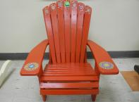 Children's Muskoka Chair - Colour Red